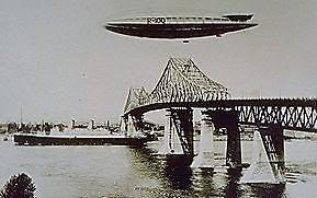 SAVIEZ-VOUS QUE….. L'aéroport de Saint-Hubert a accueilli le dirigeable R-100 en 1930!